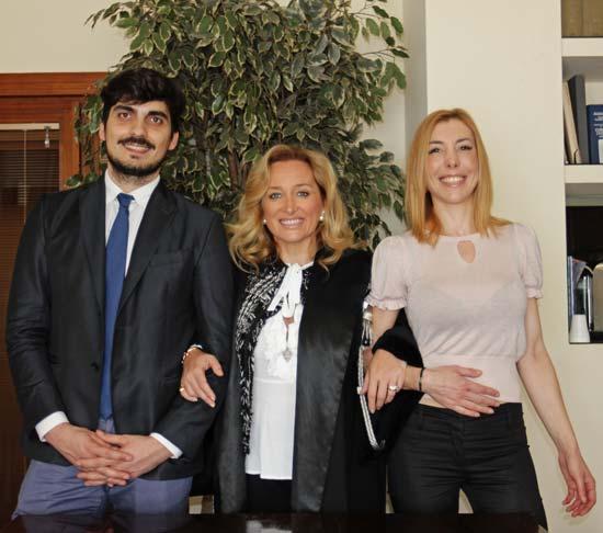 Avvocato Antonella Piva foto con colleghi